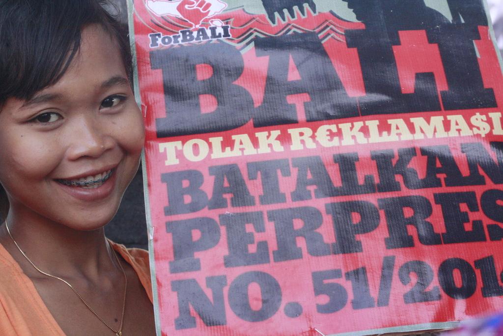 Seniman dan Solidaritas Bali Tolak Reklamasi