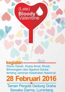Bloody Valentine Bali Blogger yang paling mesepuk